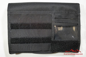 MOLLE vehicle visor organizer by Overland Gear Guy