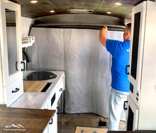 Load image into Gallery viewer, Promaster Van Wall Partition, Promaster Privacy Wall by Overland Gear Guy