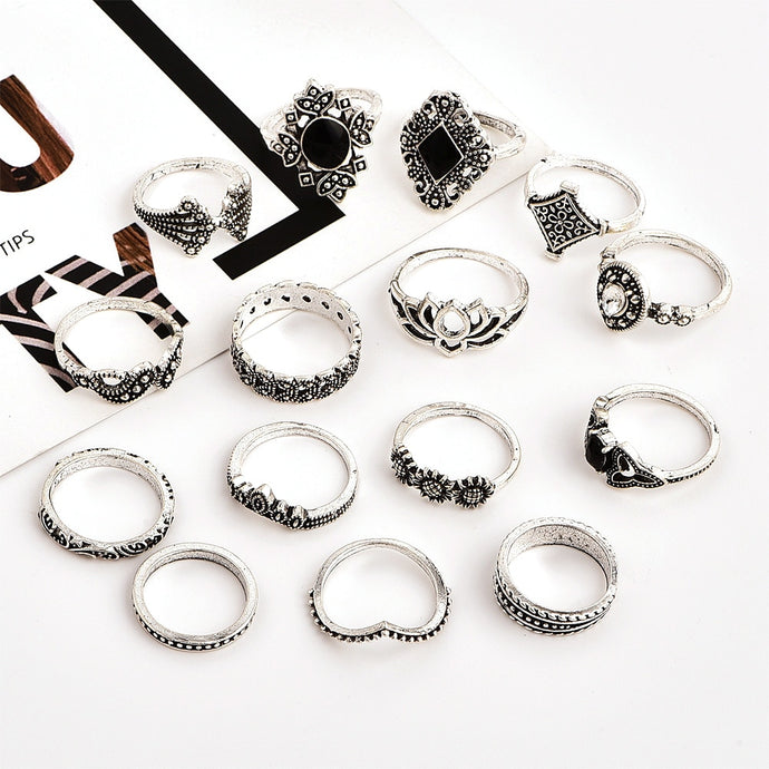 Silver Ring Set - FinishingTouchesx