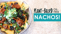 World's Healthiest Plant Based Nachos | Vegan Oil Free