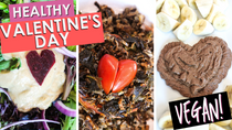 Romantic 3 Course Vegan Valentine's Day Dinner | Oil Free