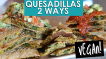 Easy Plant Based Quesadillas | Breakfast & Dinner! | Vegan Oil Free