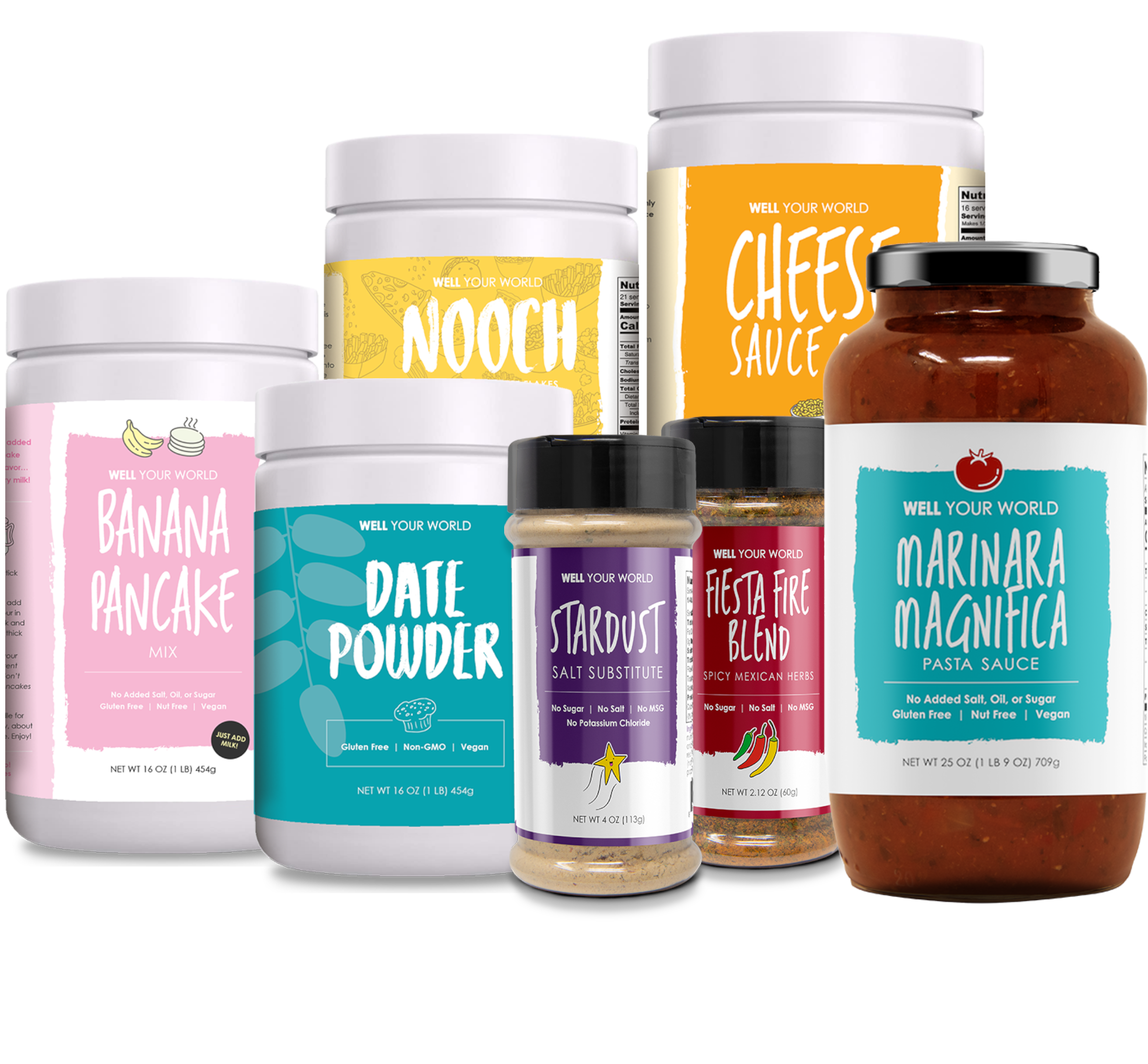 Plant-Based Healthy Vegan Products