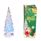 6'' LIGHT UP CHRISTMAS TREE 12PCS/PK