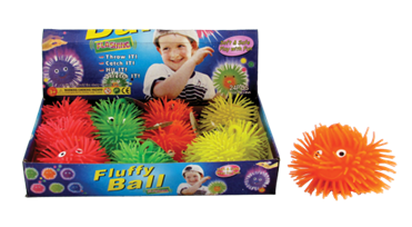 3.5'' PUFFER BALL-LIGHT UP 24PCS/ DISPLAY