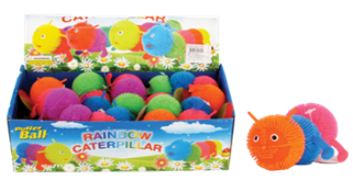 "5"" 3-BALL CATERPILLAR-LIGHT UP 24PCS/ DISPLAY"