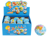 "3"" BIG GLOBE SOFT STRESS BALL 24PCS/ DISPLAY"