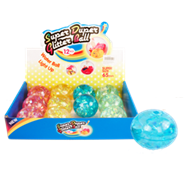 "2.5"" LIGHT UP CRYSTAL BOUNCY BALL 12PCS/DISPLAY"