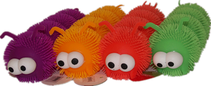 Puffer large caterpillar 6 pcs/pk