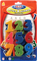 MAGNETIC NUMBER  12PCS/PK