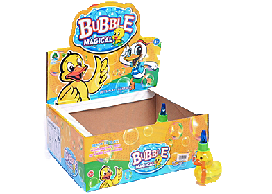"4"" Ducky Bubble -24pcs/box"