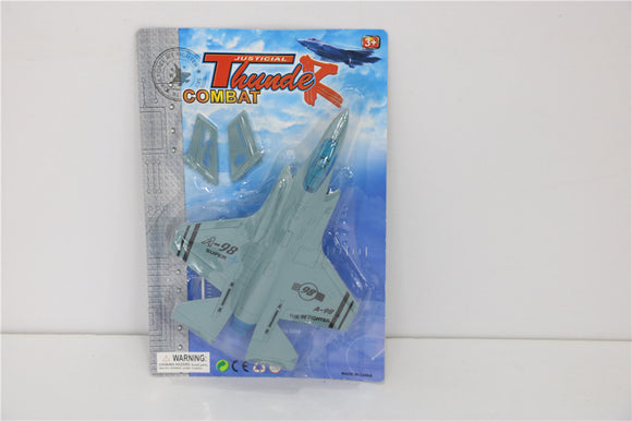Fighter jet pull back 12PCS/PK