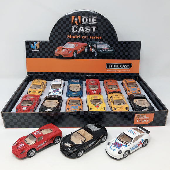 Die Cast Super Car 1:43  12pcs/display