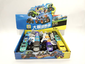 Monster truck  12pcs/display