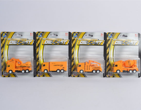 Die-cast construction truck 3.5