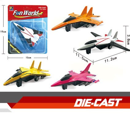 Die-cast Fighter Jet 4.5