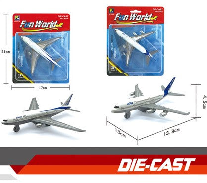 Die-cast Air Plane 5.5