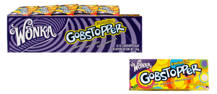 Wonka Gobstopper Everlasting 50g  24pcs/display