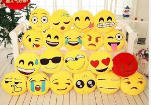 "14"" EMOJI CUSHION 6 PCS/PK"