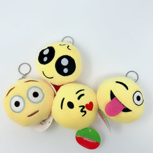 "5"" Emoji Key Chain 12 PCS/PK"
