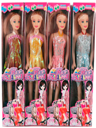 11'' FASHION DOLL  12PCS/PK