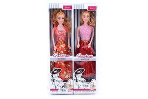 "11.5"" solid doll, 12 pcs/pk"
