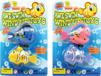 "3"" WIND UP SWIMMING FISHES-2PCS  12PCS/PK"