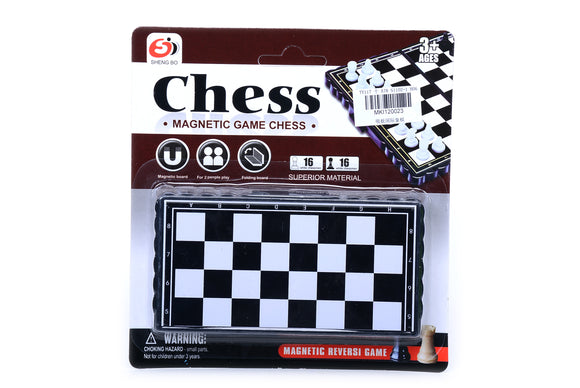 Magnetic Foldable Chess Game  12pcs/pk