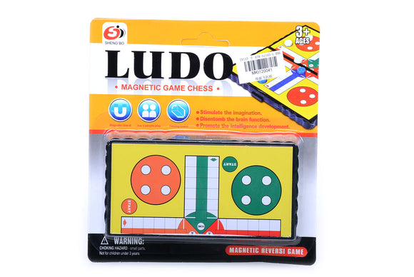 Magnetic Foldable Ludo Game  12pcs/pk