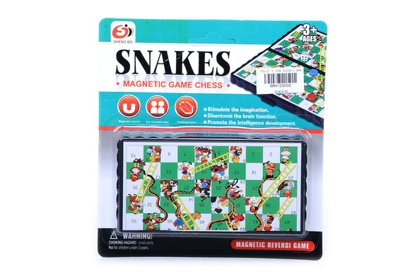 Magnetic Foldable Snakes Game  12pcs/pk