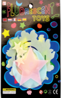 GLOW IN DARK-STARS  12PCS/PK