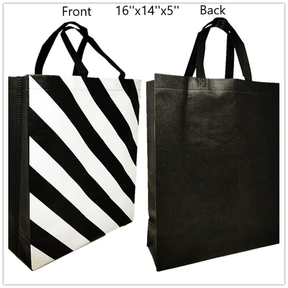 Reuseable shopping/gift bag 16''x14''x5'' 300 pcs/pk