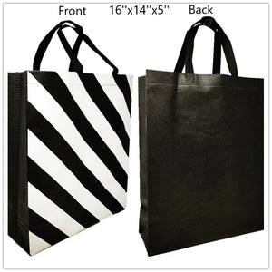 Reuseable shopping/gift bag 16''x14''x5'' 50 pcs/pk