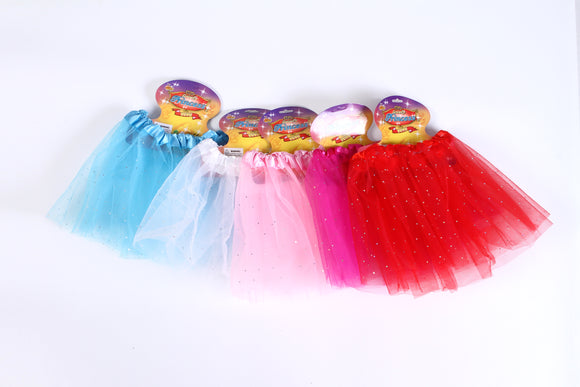 TUTU-SEQUIN assorted colors 12pcs/pk
