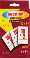BIG FLASH CARD (+,-,x,/)  12PCS/PK
