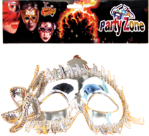 PARTY MASK B 12PCS/PK