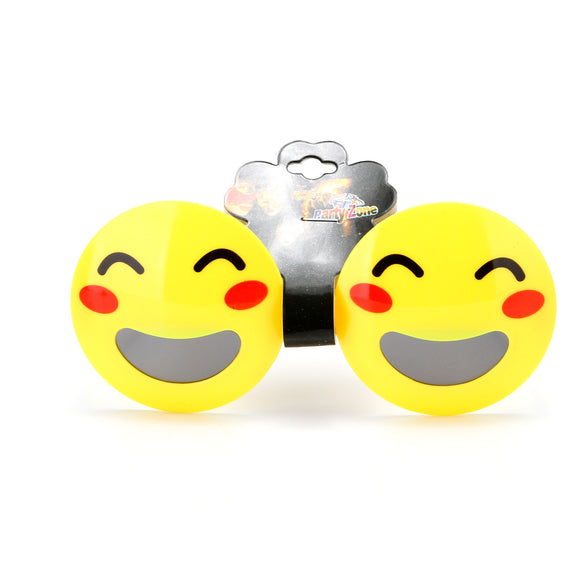EMOJI PARTY GLASSES 12 PCS/PK
