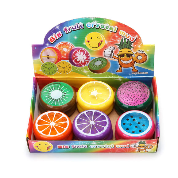 BIG FRUIT CRYSTAL MUD  18 PCS/PK