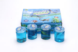 CRYSTAL MUD SLIME-SEA CREATURE assorted design 12pcs/pk