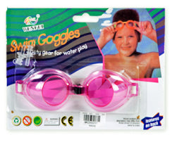 KID'S SWIMMING GOGGLES 12 PCS/PK