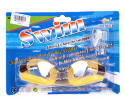 ADULT'S SWIMMING GOGGLES 12 PCS/PK
