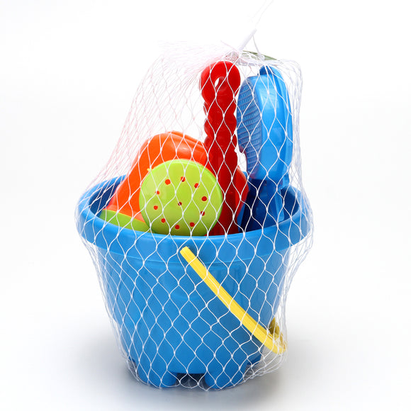 Beach Toy Set Basket 12/pk