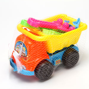 Beach Toy Set Truck 9.5'' 12/pk