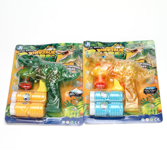 Bubble Gun Dinosaur 12pcs/pk