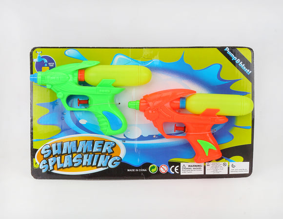 Water guns twin package  12pcs/pk