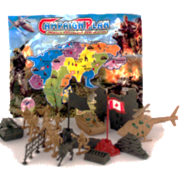 SOLDIER FORCE WITH MAP 12PCS/PK