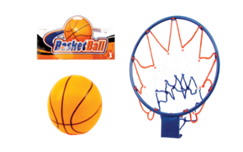 BASKET BALL PLAY SET 12PCS/PK