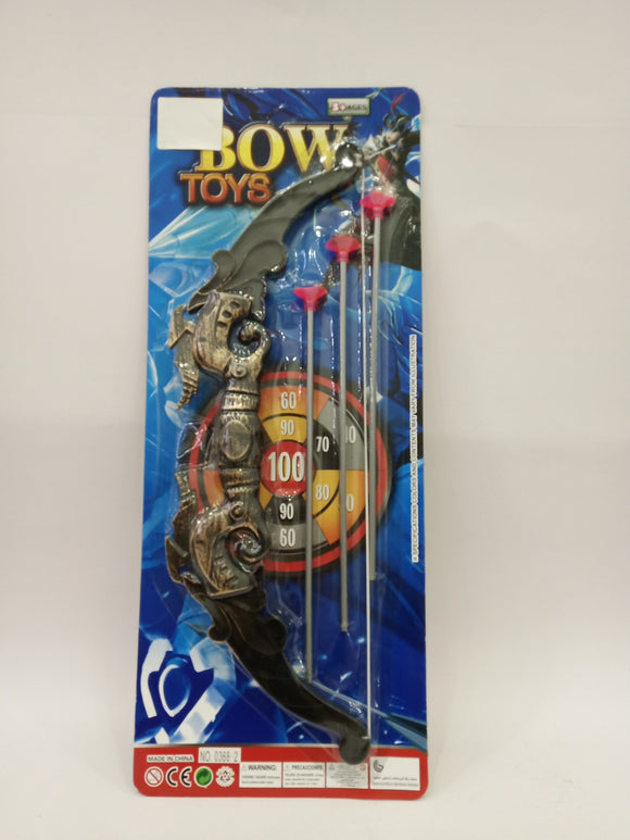 BOW & ARROW 12PCS/PK