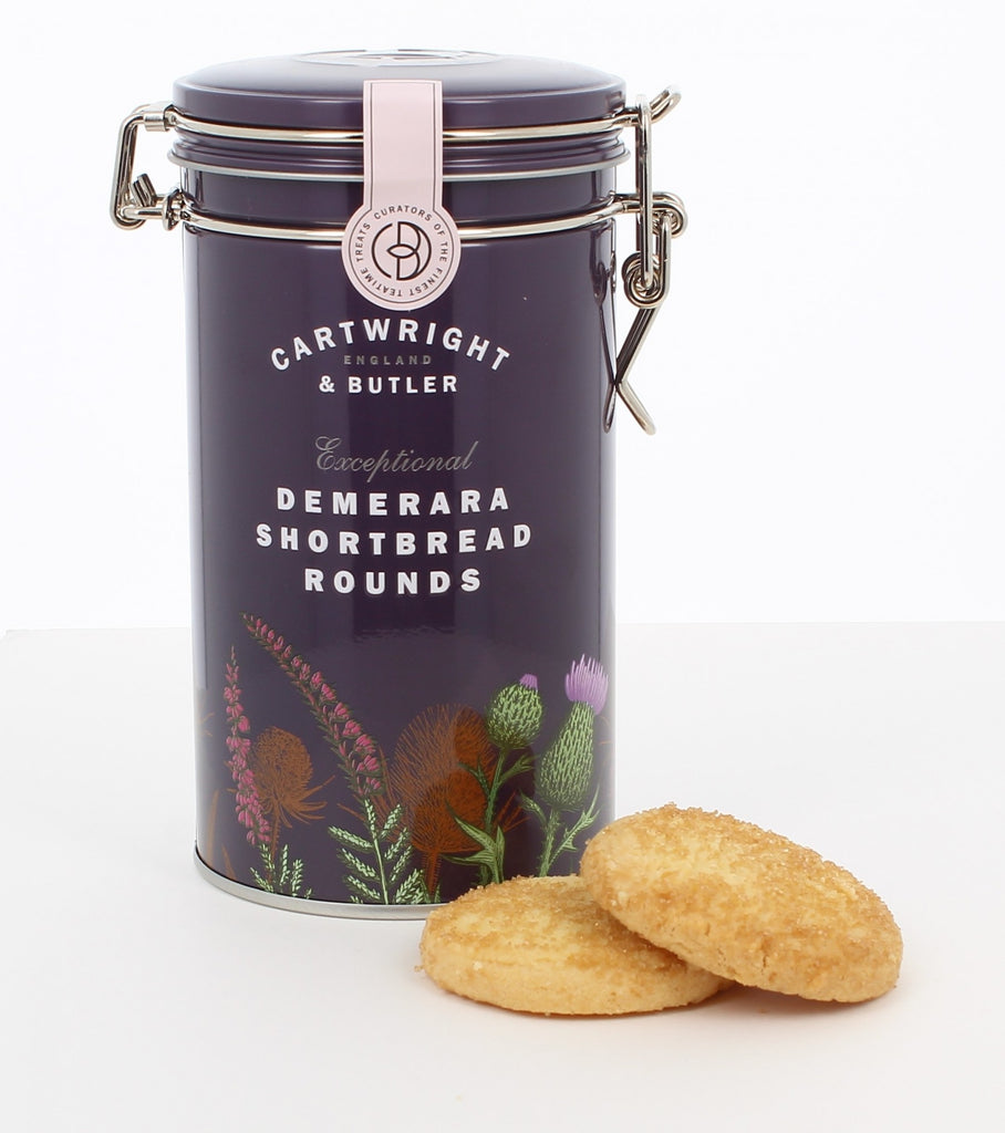C&B DEMERARA SHORTBREAD ROUNDS IN TIN 200G - Khubchands