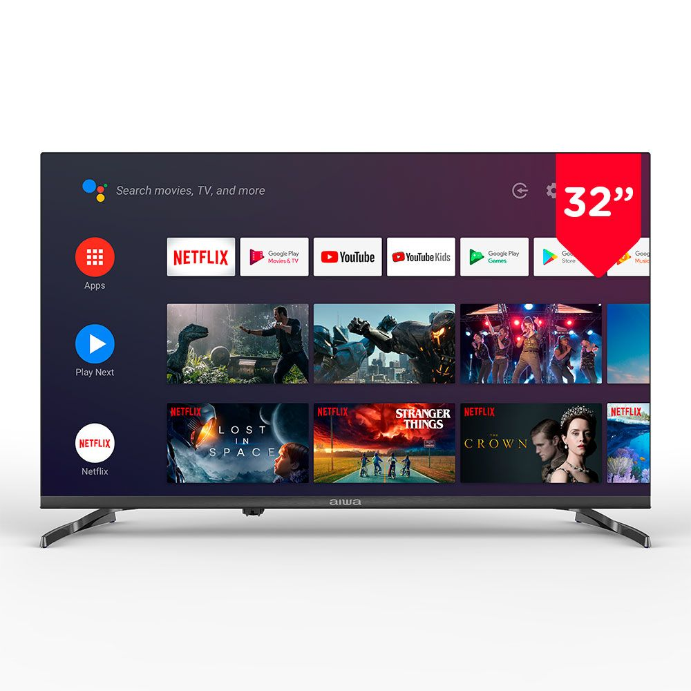 "AIWA LED326HD ANDROID SMART LED  TV 32"" - Khubchands"